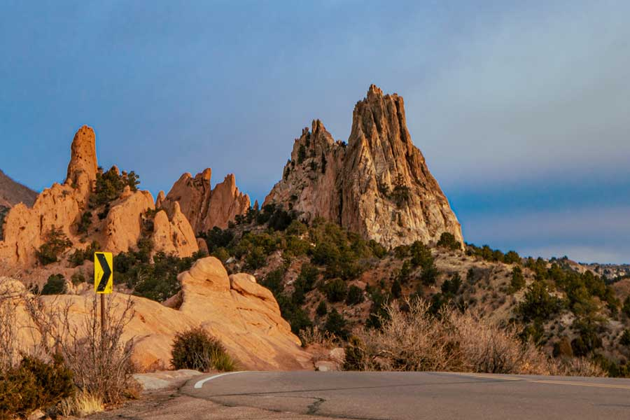 Garden of the Gods Colorado Springs USA road trip with dad, father son or daughter trip ideas