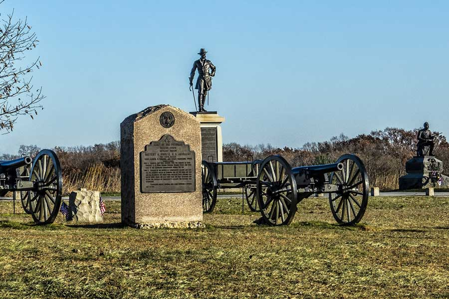 Gettysburg Civil War history trips with dad, father son or daughter trip ideas USA