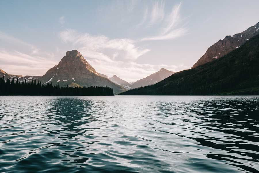 Glacier National Park Montana fishing trips with dad, father son or daughter trip ideas USA