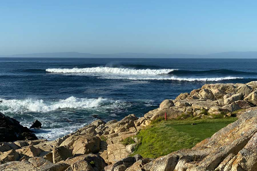 Pebble Beach California golfing trips with dad, father son or daughter trip ideas USA