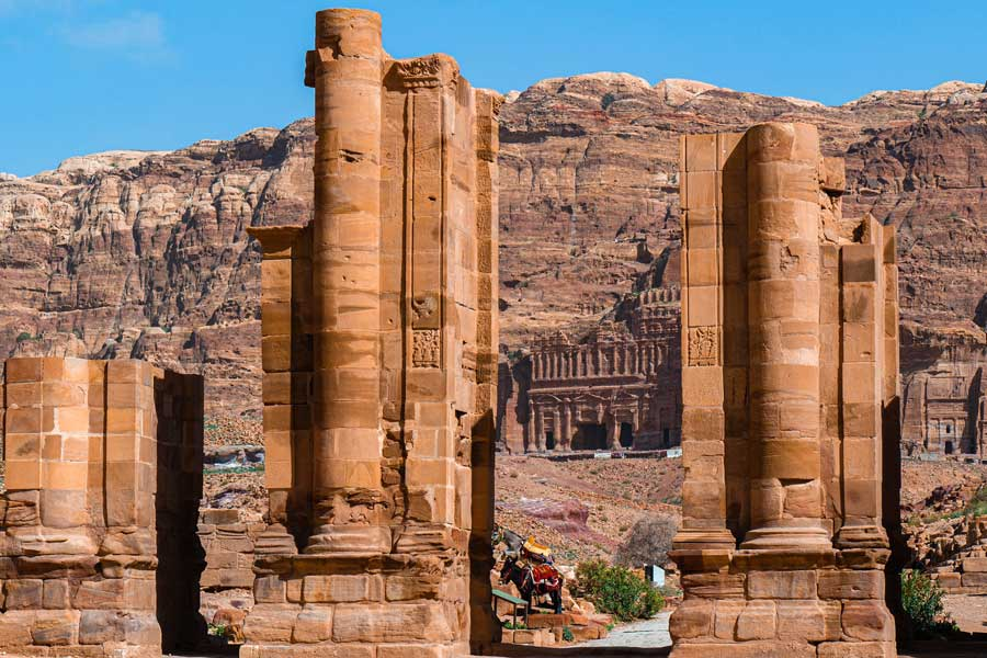 Petra Jordan trips with dad, father son or daughter trip ideas