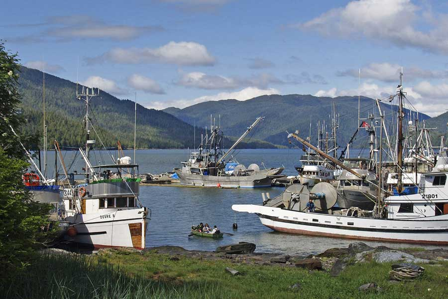 Prince Rupert BC fishing trips with dad, father son or daughter trip ideas Canada