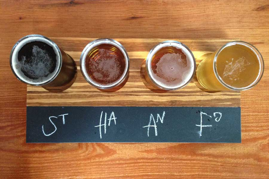 Craft brewery trips with dad, father son or daughter trip ideas USA