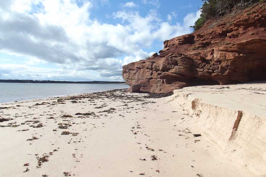 Prince Edward Island PEI beach, best trips with mom Canada, places to go for mother daughter trips, road trips
