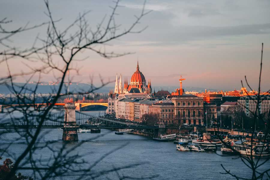 Danube cruise at Budapest, best trips with mom Europe, places to go for mother daughter trips of a lifetime