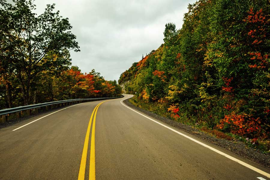 Nova Scotia road trips Cabot Trail, best trips with mom Canada, places to go for mother daughter trips