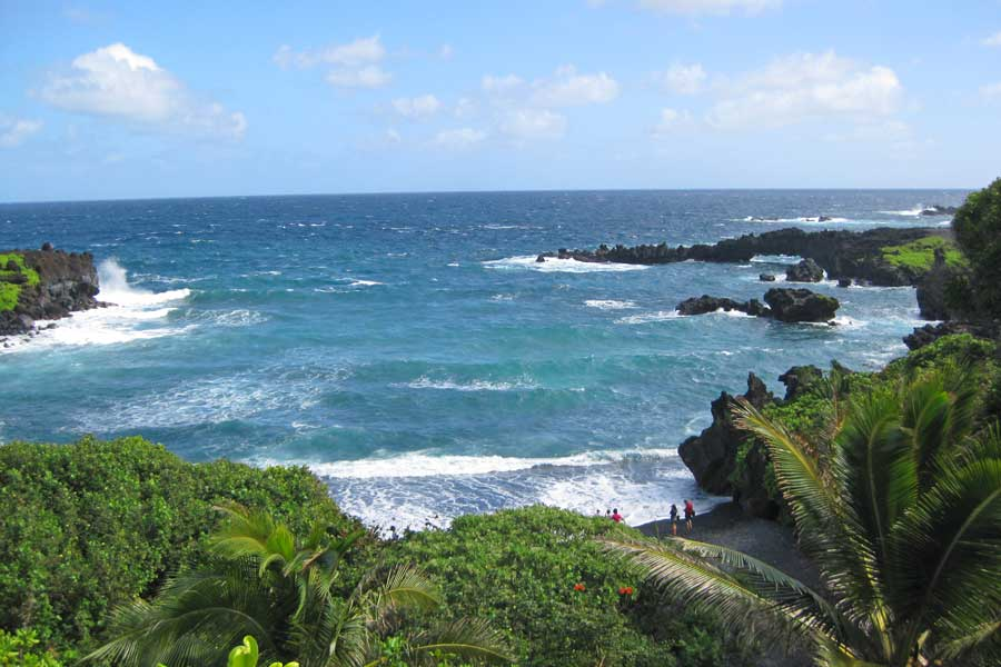 Maui Hawaii beach, best trips with mom USA, places to go for mother daughter trips, road trip to Hana