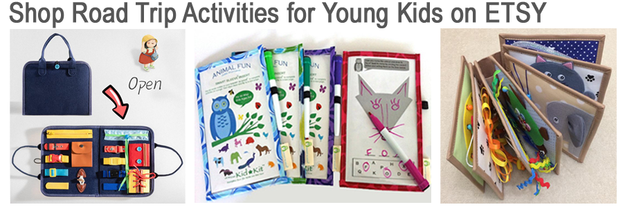 Best road trip games for kids, family road trip, Etsy shop