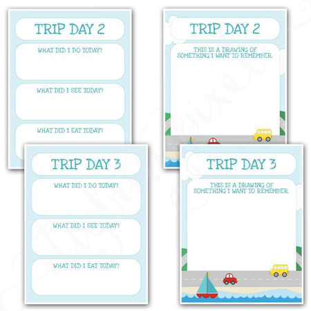Best road trip games for kids, family road trip printables, Itty Bitty Pixel Etsy
