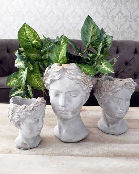 Outdoor planter, outdoor decor items for travel lovers