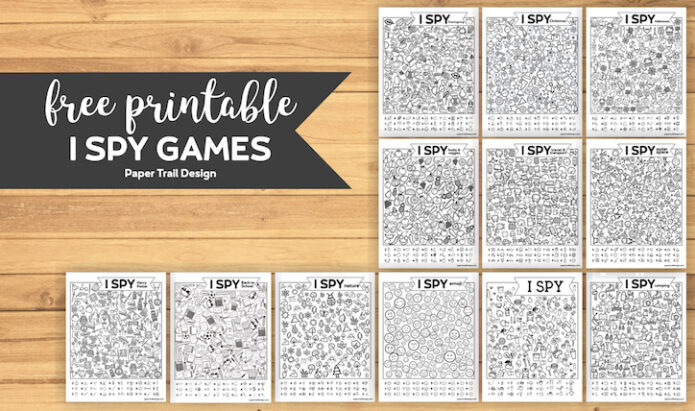 Best road trip games for kids, family road trip free printables, Paper Trail Design blog