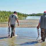 Father son fishing trip in Alaska USA, best trips with dad