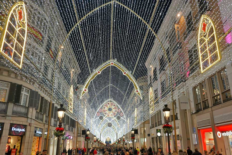 Luxury European vacation ideas for couples at Christmas, romantic getaways Europe, Spain at Christmas