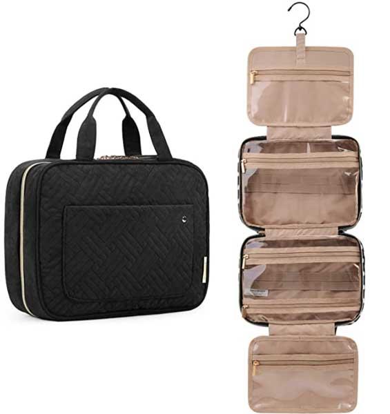Toiletry bag, small travel kit bag, makeup bag, Bagsmart bags
