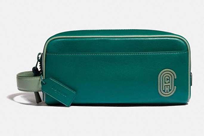 Dopp kit for men, small travel kit bag, Coach bags