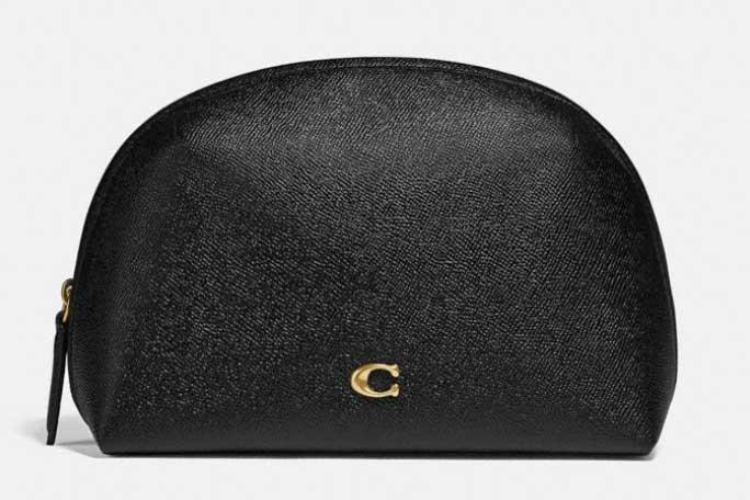 Small travel makeup bag, Coach bags