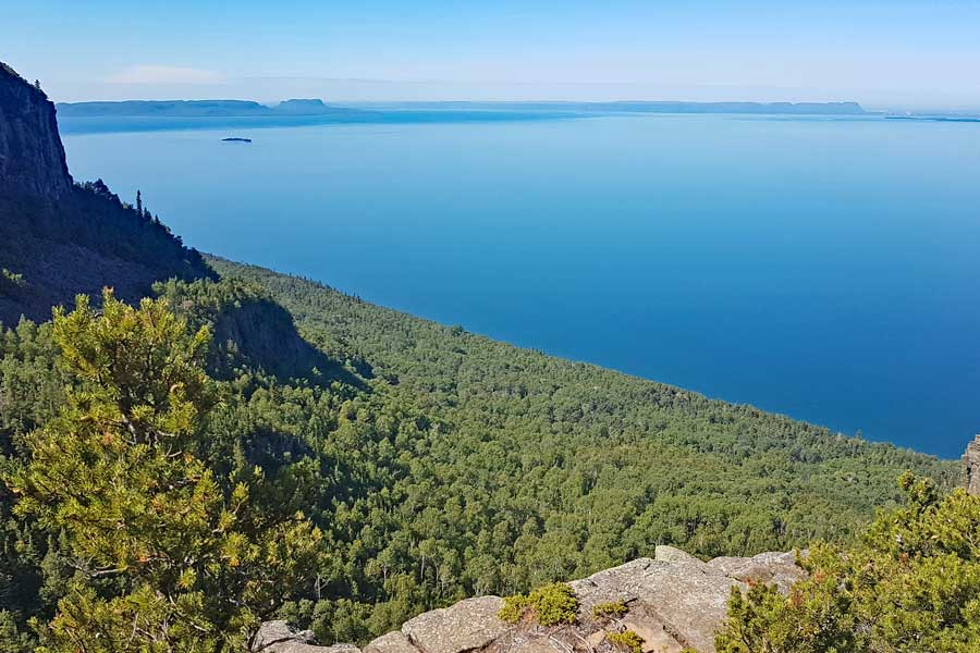 Head Trail Lookout, Sleeping Giant hiking trails near Thunder Bay Ontario