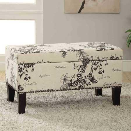 Bedroom decor furniture bench, travel decor for bedroom