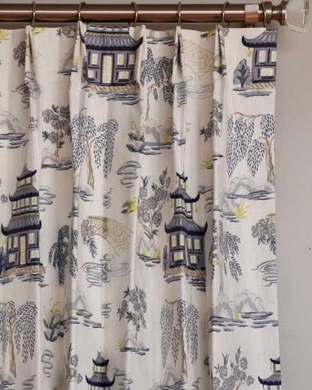 Floral draperies, bedroom decor wall ideas, travel decor