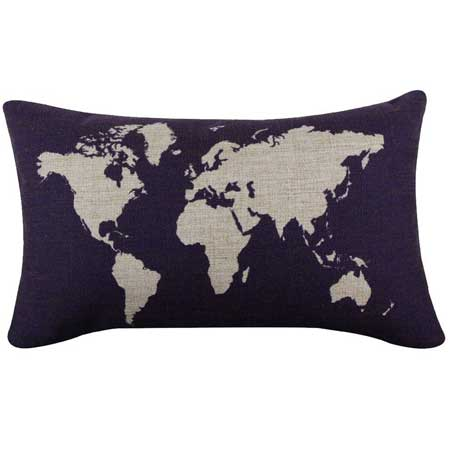 Bedroom decor pillows minimalist, travel decor for bedroom