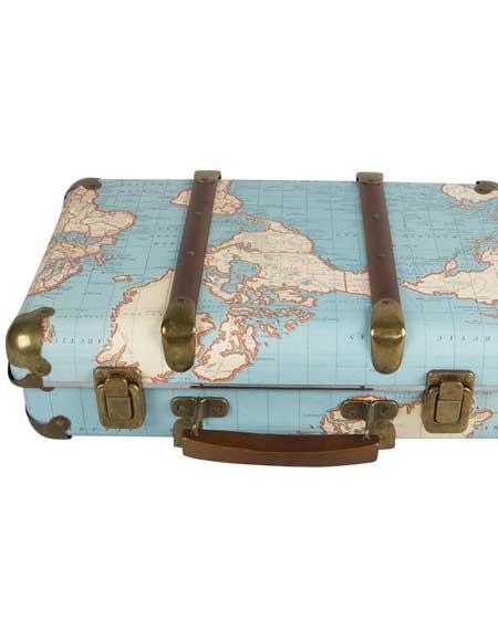 Suitcase storage, bedroom decor vintage, travel decor for bedroom