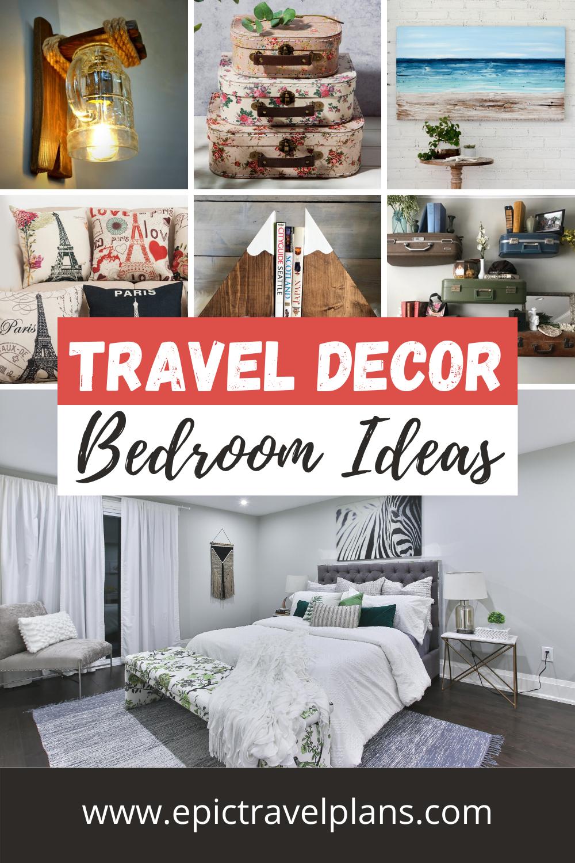 Best travel decor for bedroom, bedroom decor ideas