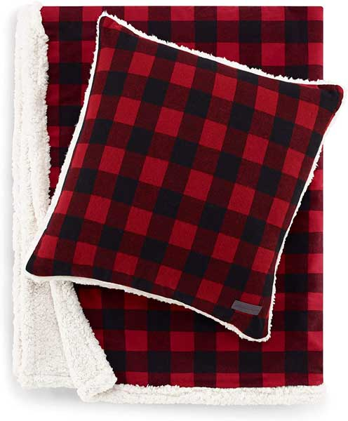 Cozy cabin blanket, gifts for cabin owners