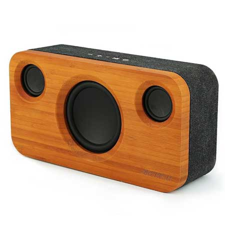 Wood bluetooth speaker cabin gift idea, cool things for cabins