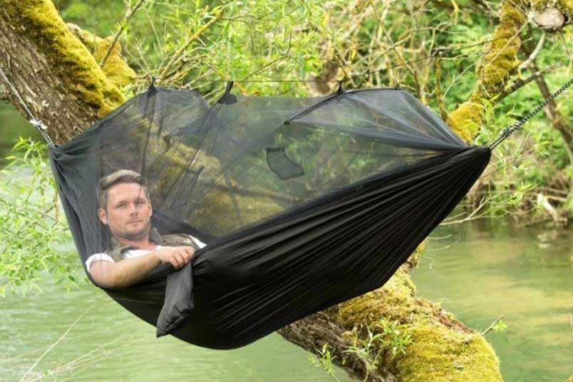Hammock with mosquito net cabin gift ideas, cool things for cabins