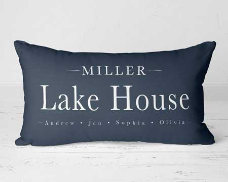 Cabin decor pillows, lake cabin gifts, gifts for cabin owners