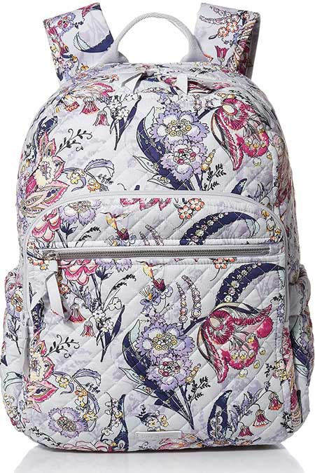 Carryon backpack, cute travel accessories for women, Vera Bradley bags