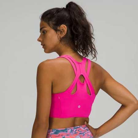 Bra with hidden pocket, stylish travel accessories for women, Lululemon bras