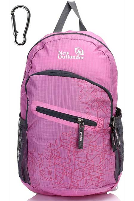 Foldup backpack, practical travel accessories for women