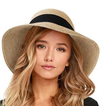 Foldable straw hat for travel, Sunglasses, cute travel accessories for women