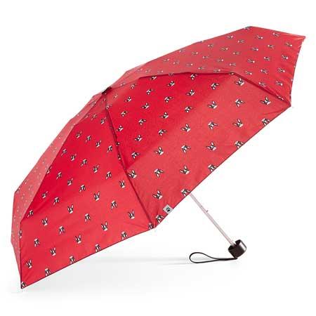 Bulldog foldup umbrella, stylish travel accessories for women