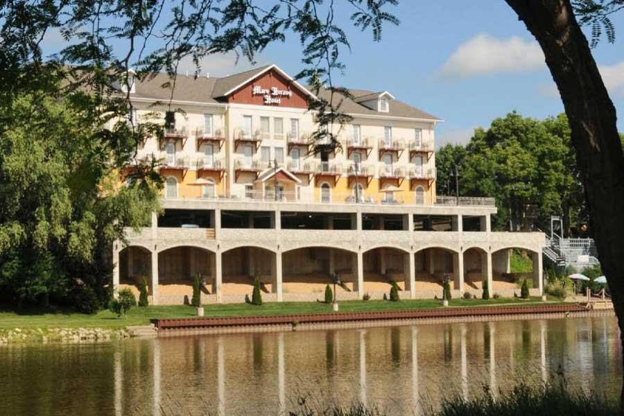 Marv Herzog Hotel, Frankenmuth Michigan romantic getaways
