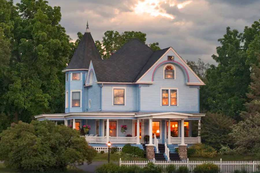 Castle in the Country Inn, Michigan getaways for couples near Chicago