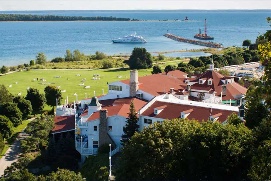 Mission Point Resort, Mackinac Island romantic getaways in Michigan, Michigan spa getaways