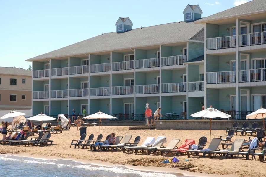 Sugar Beach Resort, Traverse City Michigan romantic getaways on Lake Michigan