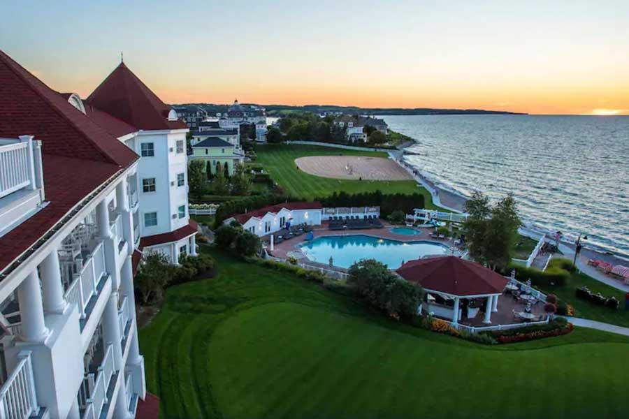 Inn at Bay Harbor, northern Michigan romantic getaways, Michigan spa getaways
