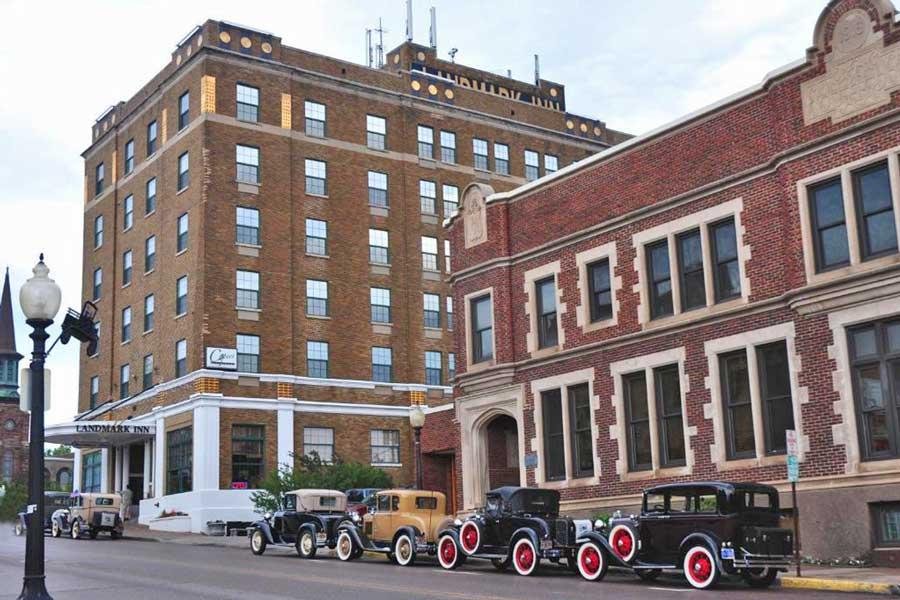 Landmark Inn, Michigan romantic getaways on Upper Peninsula