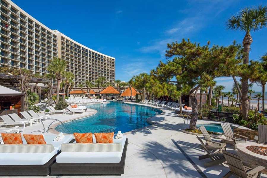 The San Luis Resort Spa, romantic getaways Texas Coast, Galveston Texas beach resorts