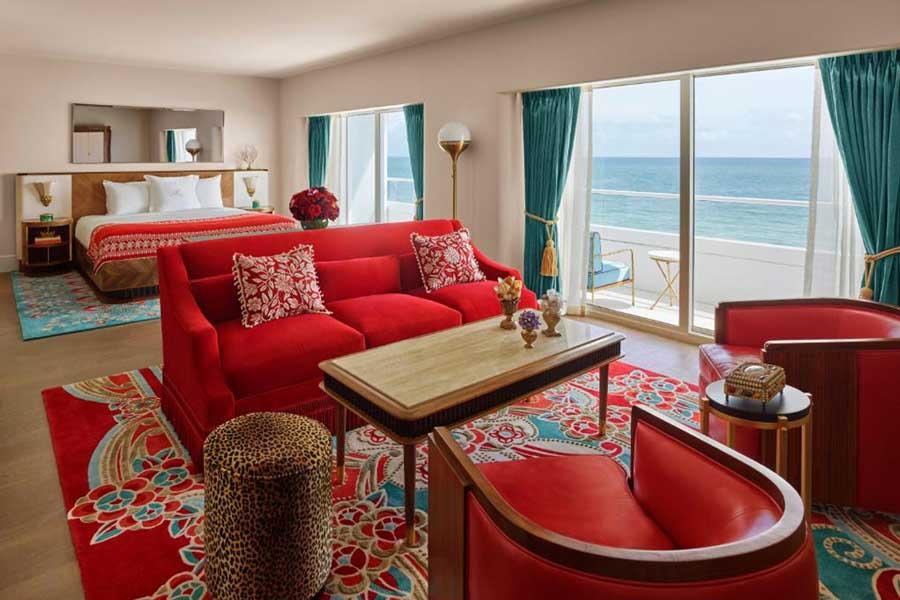 Faena Hotel Miami Beach Florida getaways for couples, oceanfront resorts Florida USA