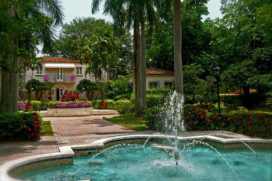 Fisher Island Club and Hotel, secluded best romantic getaways to Florida, oceanfront spa resorts Florida, private island getaways