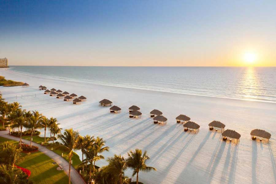 JW Marriott Marco Island, best romantic getaways to Florida, oceanfront resorts Florida