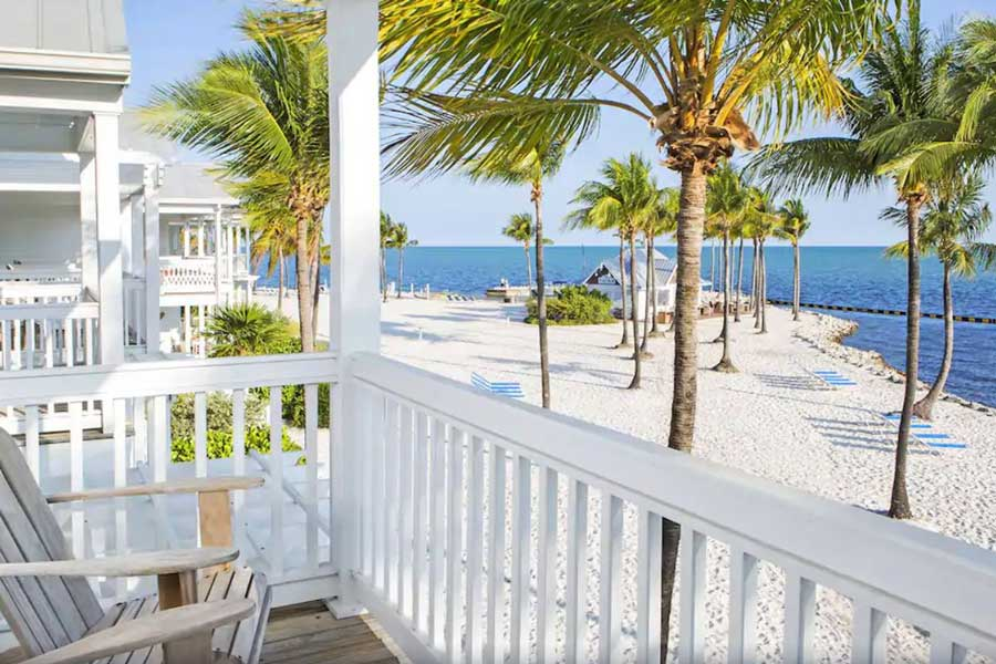 Tranquility Bay Beachfront Resort, best romantic getaways to Florida Keys, oceanfront resorts Florida
