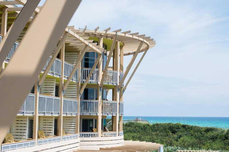 WaterColor Resort on Santa Rosa Beach, romantic getaways to Florida west coast